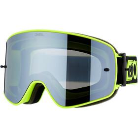 O'Neal B-50 Goggles, force-black/neon yellow-silver mirror